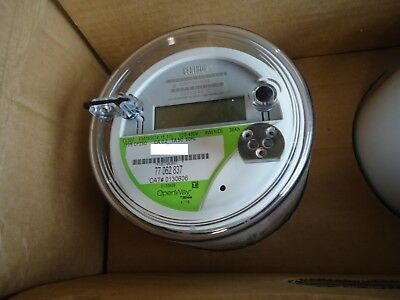 CENTRON ITRON Watthour Meter TYPE CP2S0 CL320 120-480V 10.0KH FM16S (154,15, 17)