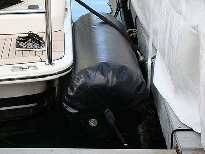 "Deluxe Extra Large 60""x18"" Heavy-Duty Inflatable Fender For Boat Yacht Sailboat"