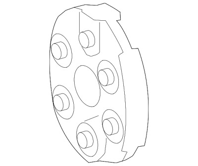 Genuine Mercedes-Benz Flex Coupling 205-411-00-00