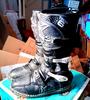 Heavy Duty Alpinestars Tech 6 T6 Boots Size 11 Mmotocross - Motorcycle Boots