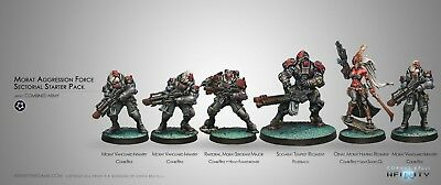 Corvus Belli Infinity - Morat Aggression Force - Combined Army