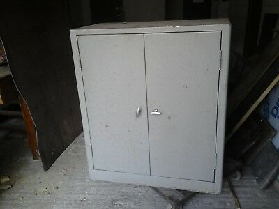 Vintage Industrial or Office Grey Steel Cabinet,Triumph Brand