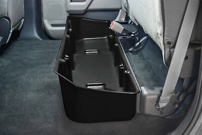 Du Ha 20110 Black Under Rear Seat Storage For Ford F150 Crew