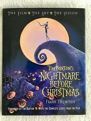 Tim Burtons Nightmare Before Christmas The Film The Art The Vision Frank...