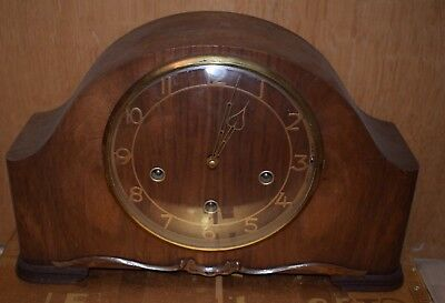 Smiths Enfield  Westminster Chime  Mantle Clock Spares or Repairs
