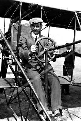 New 4x6 Photo: Glenn Curtiss, Aviation Pioneer and Founder of Aircraft Industry