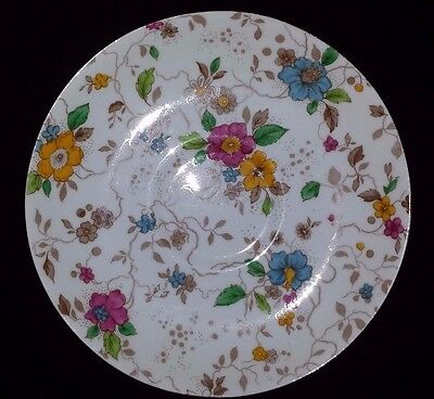 Grafton & Sons Floral China Dessert Plate England 6 Inch