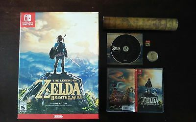 Legend of Zelda Breath of the Wild Special Edition [Nintendo Switch]