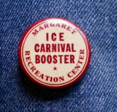 """Scarc 1930's Margaret Recreation Center In St Paul, Mn. Ice Carnival 1 1/4"""" Cell"""