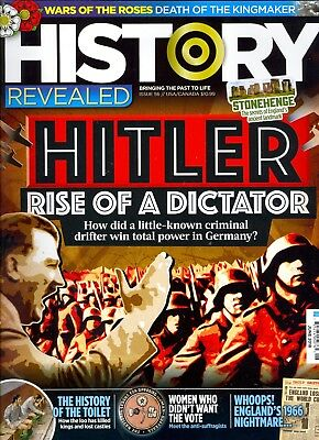 History Revealed June 2018 Hitler Rise of A Dictator-Stonehenge-War of the Roses