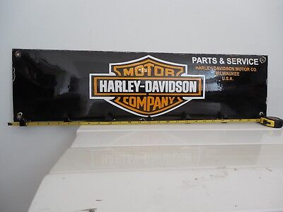 Harley-Davidson  porcelain pressed steel coat hanger sign