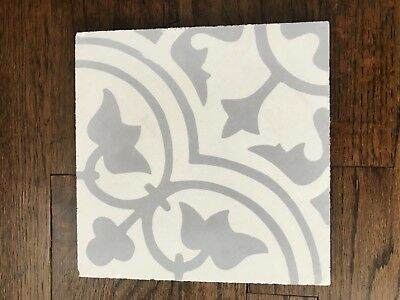 Painted Cement Paver Tiles