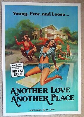 Another Love Another Place Orig 1978 1Sht Movie Poster Folded Ex