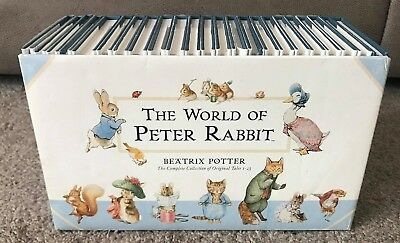 The World of Peter Rabbit Complete Collection 23 Book Set by Beatrix Potter