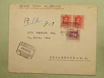 Dr Who 1926 Spain To Usa  C38839