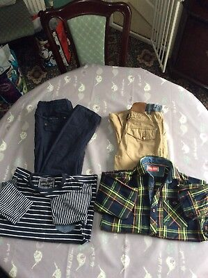 Next Boys Outfits Aged 8 Trouser Type Jeans & Tops (4 Items)