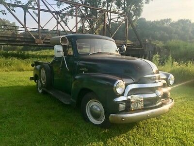 1954 Chevrolet Other Pickups 3100 5 window 1/2 ton short box pick up 1954 Chevy pick up truck 3100 1/2 ton short box 5 window Runs Drives! NO RESERVE