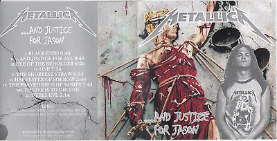 METALLICA And Justice for Jason CD Bass now up in the Mix NM-/NM-   All  Newsted
