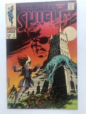Nick Fury Agent Of Shield 4 Fine+ STERANKO glossy