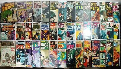 DC Silver/Bronze Age Horror Lot! 42 Total! House Of Secrets! House Of Mystery!