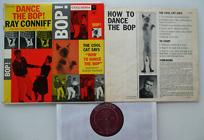 LP 1957 Ray Conniff DANCE THE BOP ! Columbia CL 1004 USA / Canada BOOKLET !!! NM