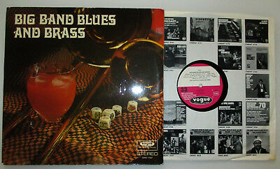 DLP 1970 Johannes Fehring BIG BAND BLUES AND BRASS dt Vogue LDVS 17207 Stereo NM