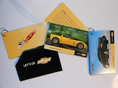 2007 Corvette Impala HHR Mini Sales 9 Card Set Canada Auto Show New
