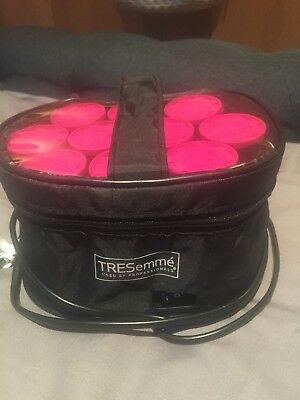 TreSemme heated rollers.