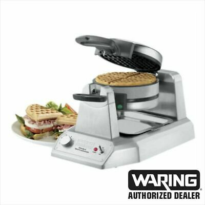 NEW! Waring WWD200 - Double Waffle Maker, Commercial, 120V!!
