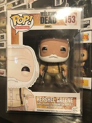 Funko POP! Hershel Greene #153 - The Walking Dead