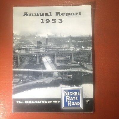1953 Nickel Plate Road Magazine / Annual Report