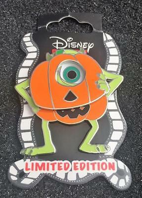 Disney DSSH DSF Monsters Inc Mike Wazowski as Pumpkin Halloween 2014 LE 400 Pin