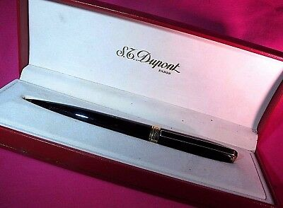 Dupont mechanical pencil black chinese lacquared