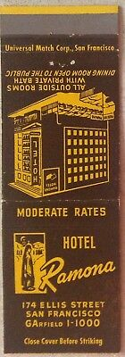 Hotel Ramona San Francisco moderate rates Outside Rooms Unstruck