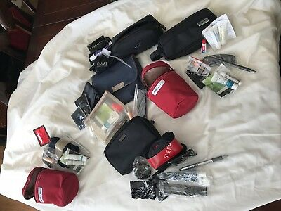 6 Pc Delta One / Northwest First Class Amenity Kits Tumi & More