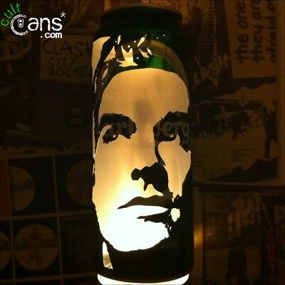 Morrissey Beer Can Lantern! The Smiths Pop Art Portrait Candle Lamp Unique Gift