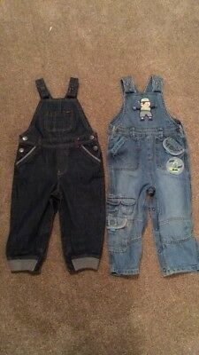Boys Dungarees 18-24 Months, Ted Baker And M&S