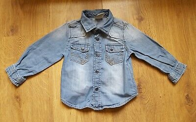 Baby Boys 9-12 Months Denim Shirt TDM Mini Collection