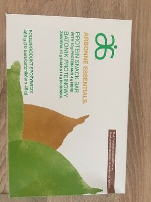 Arbonne Protein Snack Bars x10