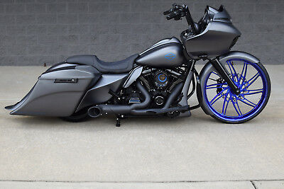 """2018 Harley-Davidson Touring  2018 ROAD GLIDE BAGGER *1 OF A KIND* 26"""" CANDY BLUE WHEEL! OVER $40K IN XTRA'S!"""