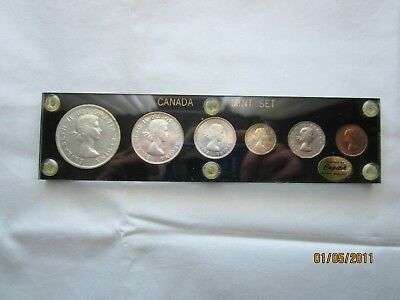 Canada 1959 Proof Like Set of 6 coins, Uncirculated