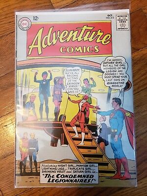 DC Adventure Comics #313 October 1963 Legion of Super-Heroes