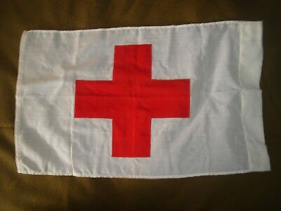 Aid Station Red Cross Flag