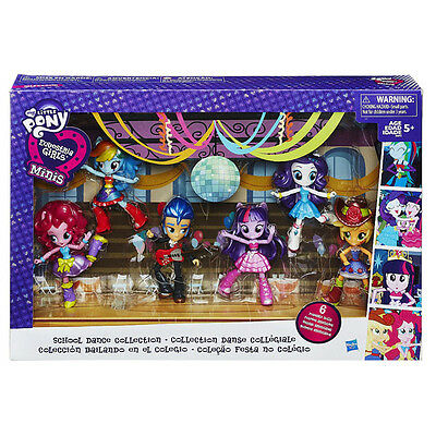 My Little Pony EQUESTRIA GIRLS MINIS Schullball-Kollektion 6 BEWEGLICHE PUPPEN