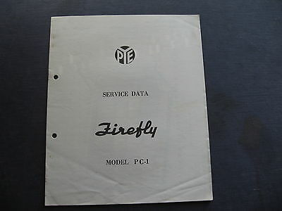 PYE Firefly PC 1  SERVICE DATA