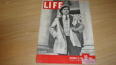 1942 Life Magazine November 30  Wwii 18 Year Old High Grade Lowest Price On Ebay