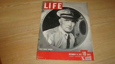 1942 Life Magazine December 14 Coast Guard Skipper High Grade Lowest Price Ebay