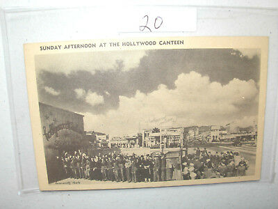 Postcard Navy  Sunday Afternoon At The Hollywood Canteen  Los Angeles 1945  #20
