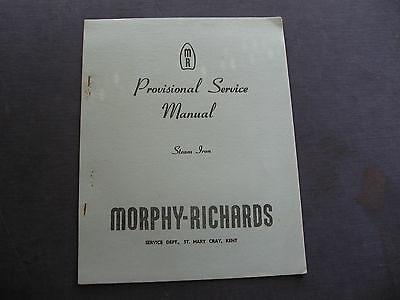 Murphy Richards Steam Iron SERVICE MANUAL