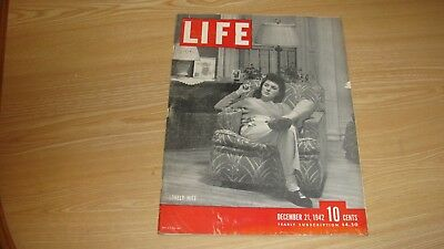 1942 Life Magazine December 21  Wwii Lonely Wife High Grade Lowest Price On Ebay